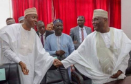 Saraki speaks on 'stepping down' for Atiku