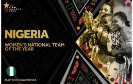 2018 CAF awards full list of winners