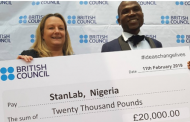 Excited Nigerian Man Gets N9m For Winning British Council Ideas Challenge