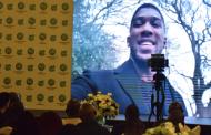 Anthony Joshua unveiled as new Glo Ambassador