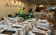Hong Kong customs seize record haul of contraband from Nigeria