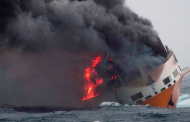 Big Ship Carrying Over 2,000 Cars Bound For Lagos Sinks