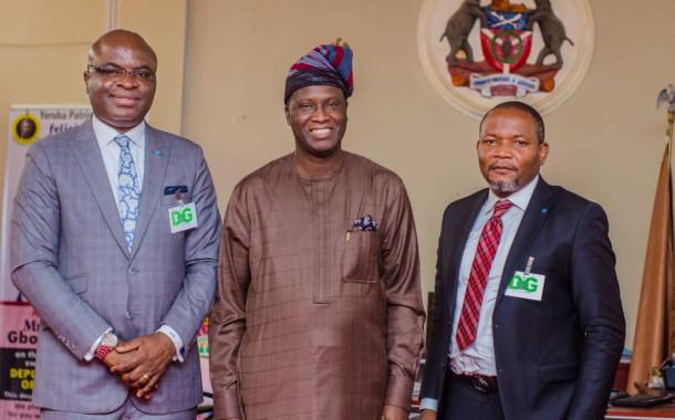 Photo News: Keystone Bank visits State of Osun Government