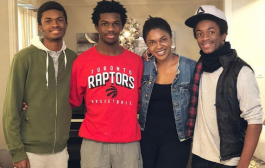 Actress Omoni Oboli Shows Off Her Grown Up Sons With Pride