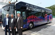 Volvo unveils driverless electric bus
