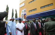 PHOTOS: President Buhari declares Lagos theatre open for public use
