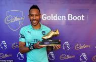 Mohamed Salah, Sadio Mane and Pierre-Emerick Aubameyang share Premier League Golden Boot award