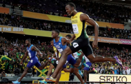 Gatlin spoils Bolt's farewell in 100-metre race with remarkable gold