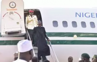 President Muhammadu Buhari arrives Nigeria after 103 days in London