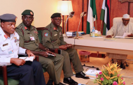 Buhari meets Service Chiefs for three hours over security