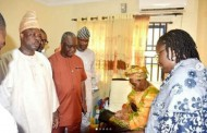 Governor Visits 67yrs Old Woman Who Gave Birth To Baby Boy After 39 Years Of Marriage