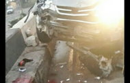 Wife Killed, Husband Lost A Leg In Crash At Illegal Checkpoint... Policemen Flee