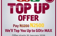 MultiChoice Excites GOtv Customers with Top Up Campaign Offer