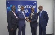 PHOTO: CIBN executives visit Keystone Bank mmanagement for a stakeholder engagement session