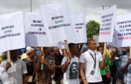Lagos Computer Village Traders Protest Installation of