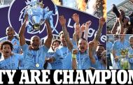 Man City retains EPL title, defeat Brighton 4-1