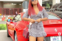 Photos: Actress Regina Daniels Steps Out In Husband's Customized Ferrari