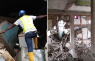 One-Storey Building Collapses In Oshodi