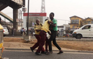 Tricycle rider beats, drags LASTMA officer into gutter