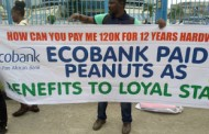 Disengaged workers threaten to shut down Ecobank