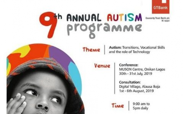 GTBank Holds 9th Annual Autism Conference July 30th - 31st