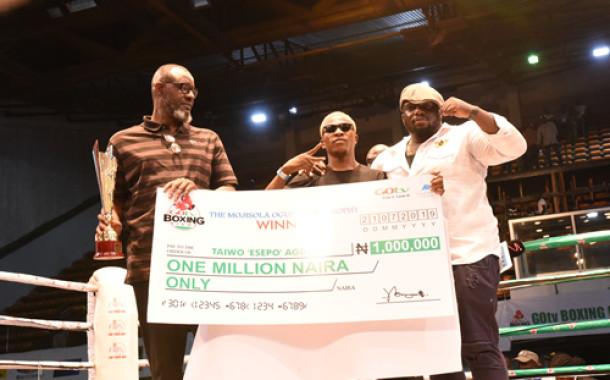 GOtv Boxing Night 19: Esepo Wins N1m Best Boxer Prize