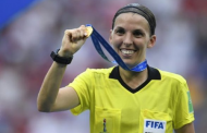 Frappart first female referee for UEFA Super Cup undaunted