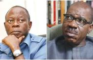 You have lost political grip on Edo – Obaseki tells Oshiomhole