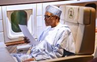 Buhari on his way back to Nigeria