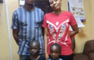 Couple arrested in Lagos for buying two kids for N140,000