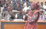 Amotekun Commander Storms Ekiti Assembly Wearing Charm Regalia