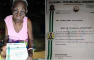 '118-year-old' woman appointed special adviser in Bayelsa