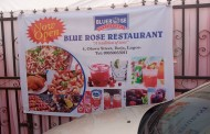 Lagosians Needs Healthy Food, As Celebrities Grace The Unveilling Of Blue Rose Restaurant.