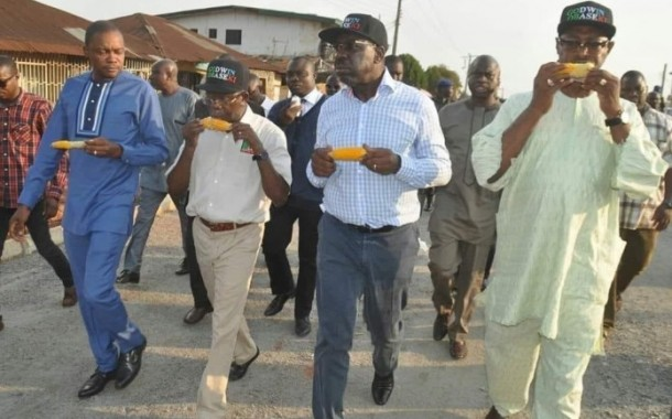 Photo of day: Oshiomhole, Obaseki when the going was good