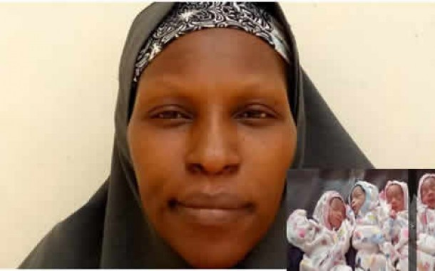 34-year-old mother of 13 gives birth to quadruplets in Zaria