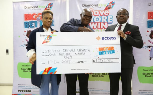 Customers to win salary-4-life, business grants, rent advance and cash rewards in Diamondxtra quarterly draw