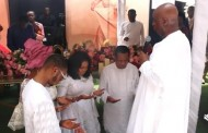 Tope Alabi @50: Bishop Oyedepo Pays Gospel Singer Surprise Visit For Her Birthday Celebration (Video)