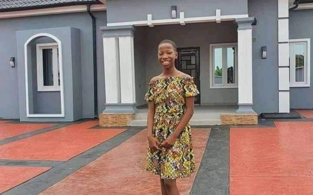 10-year old comedienne, Emanuella builds mother a house (Photos)