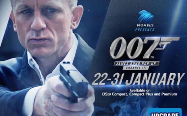 M-Net movies presents 007 James Bond Pop-up Channel' makes a grand return