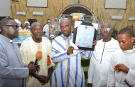 Primate Ayodele Gets Award For Humanitarian Activities, Lagos Community Development