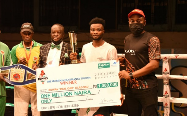 GOtv Boxing Night 22: Real One, Baby Face Win WBF Titles